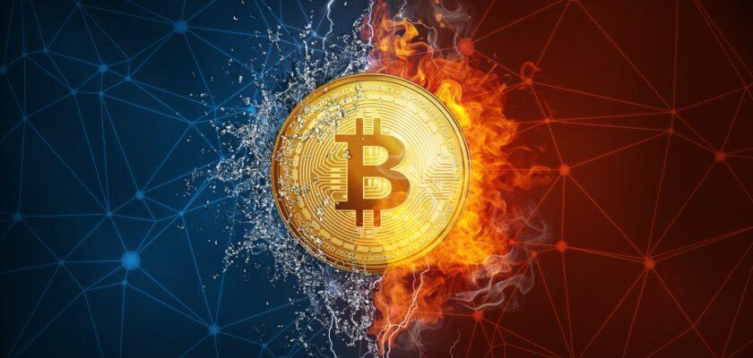 historie bitcoinu